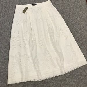 Beautiful white skirt from J Crew!